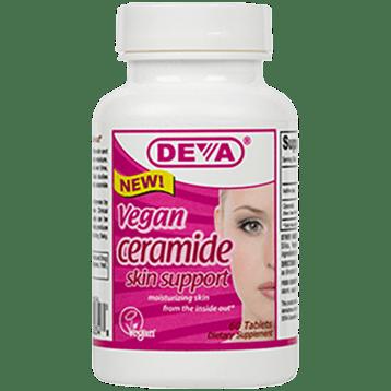 Deva Nutrition LLC Vegan Ceramide Skin Support 60 tabs D00348