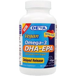 Deva Nutrition LLC Vegan DHA EPA Delayed Release 90 vcaps D00362