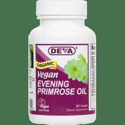 Deva Nutrition LLC Vegan Evening Primrose Oil 90 vcaps D00249