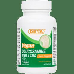 Deva Nutrition LLC Vegan Glucosamine SM CMO 90 tabs D00065