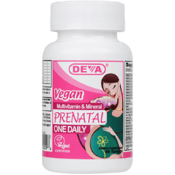 Deva Nutrition LLC Vegan Prenatal Multivitamin 90 tabs D00096
