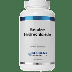 Douglas Labs Betaine Hydrochloride 250 caps HC2