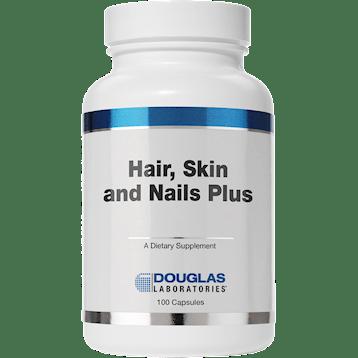 Douglas Labs Hair Skin amp Nails Plus Formula 100 caps HAIR2