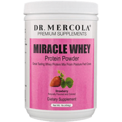 Dr. Mercola Miracle Whey Strawberry 1 lb DM1402