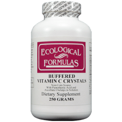 Ecological Formulas Buffered Vitamin C Crystals 250 grams BUFC2