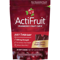 Enzymatic Therapy ActiFruit™ with Cran Max® 20 chewables ACTI5