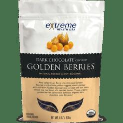 Extended Health Dark Choc Golden Berries Organic 6 oz E31961