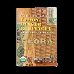 Flora Flora Lemon Ginger Echinacea 16 teabags F37708