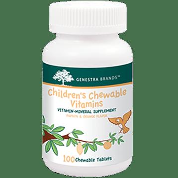 Genestra Childrens Chewable Vitamins 100 tabs SE121