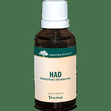 Genestra HAD Adrenal Drops 1 oz SE622