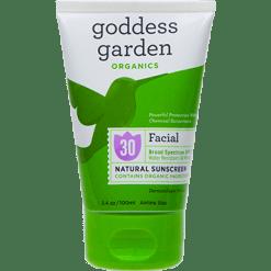 Goddess Garden Facial Natural Sunscreen Tube 3.4 fl oz G01482