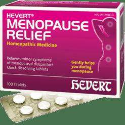 Hevert Pharmaceuticals Hevert Menopause Relief 100 tabs HV4156