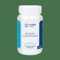 Klaire Labs Reduced L Glutathione 75 mg 100 vegcaps GL126
