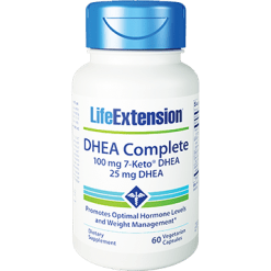 Life Extension DHEA Complete 60 vegetarian capsules L47862