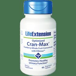 Life Extension Optimized Cran Max with UTIRose 60 capsules L01424