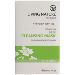 Living Nature Deep Cleansing Mask 50 ml L15019