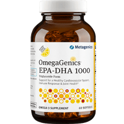 Metagenics OmegaGenics EPA DHA 1000 60 softgels M38725