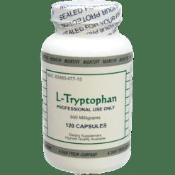 Montiff L Tryptophan 500 mg 120 vegetarian capsules LTRY6
