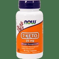 NOW 7 KETO 25 mg 90 vcaps N3010