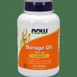NOW Borage Oil 1000 mg 120 softgels N1722