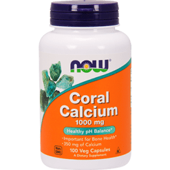 NOW Coral Calcium 1000 mg 100 vcaps N1273
