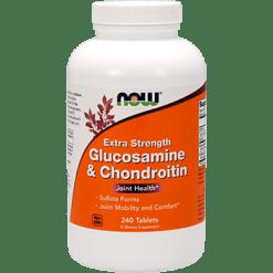 NOW Glucosamine amp Chond. Ex Str 240 tabs N3244