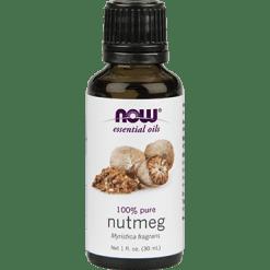 NOW Nutmeg Oil Pure 1 oz N75819