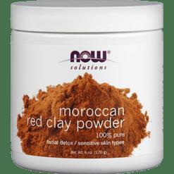 NOW Red Clay Powder 6 oz N81902