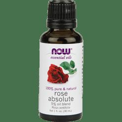 NOW Rose Absolute 5 Blend Oil 1 oz N07597