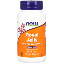 NOW Royal Jelly 1500 mg 60 caps N2565