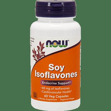 NOW Soy Isoflavones Ex Strength 60 vegcaps N3287