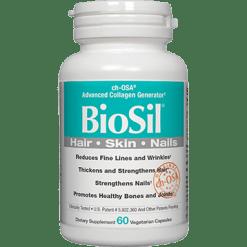 Natural Factors BioSil®Skin Hair Nails 60 vcaps BM183