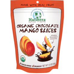 Natures All Chocolate Mango Slices Organic 1.5oz N15120