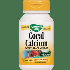 Natures Way Coral Calcium 90 vcaps CORA3