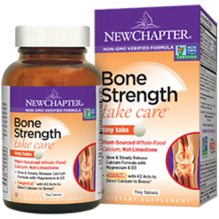 New Chapter Bone Strength Take Care 120 tiny tabs N04123
