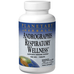 Planetary Herbals Andrographis Respiratory Wellness 120 tablets PF0691