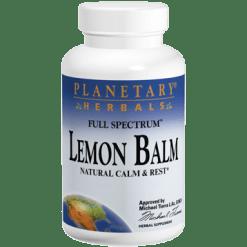 Planetary Herbals Lemon Balm 500 mg 120 capsules PF0727