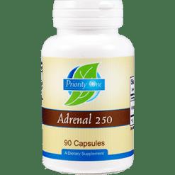 Priority One Vitamins Adrenal 250 mg 90 capsules ADR44