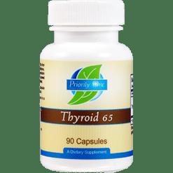 Priority One Vitamins Thyroid 65 mg 90 capsules THY64