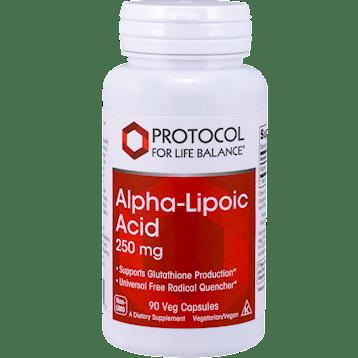 Protocol For Life Balance Alpha Lipoic Acid 250 mg 90 vcaps ALP44