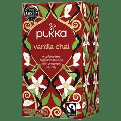 Pukka Herbs Inc. Vanilla Chai Tea 20 sachets P00726