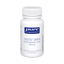 Pure Encapsulations 7 Keto DHEA 100 mg 60 vcaps 7KET6