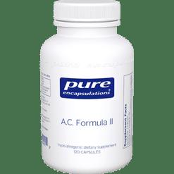Pure Encapsulations A.C. Formula II 120 vcaps P14012