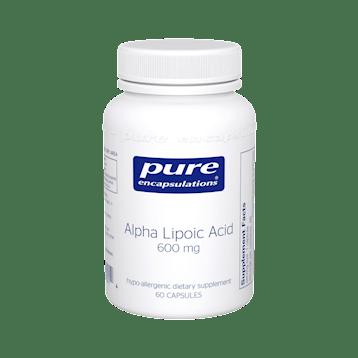 Pure Encapsulations Alpha Lipoic Acid 600 mg 60 vcaps ALP36