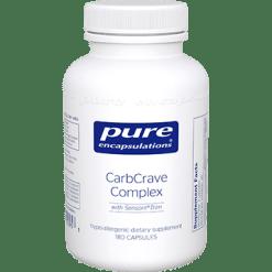 Pure Encapsulations CarbCrave Complex 180 vcaps CCC1