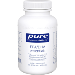 Pure Encapsulations EPA DHA Essentials 1000 mg 90 gels EPA15