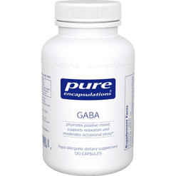 Pure Encapsulations GABA 120 vcaps GABA1