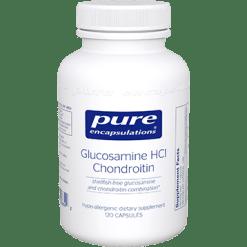 Pure Encapsulations Glucosamine HCl Chondroitin 120 vcaps GL142