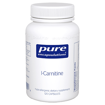 Pure Encapsulations L Carnitine 340 mg 120 vcaps CAR33