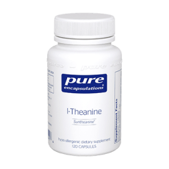 Pure Encapsulations L Theanine 200 mg 120 vcaps THEA2